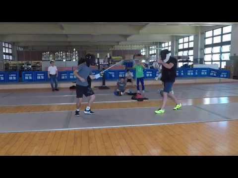Coaching course fencing - Taipei 1/3