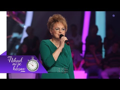 Milica Vojinovic - Bulbul mi poje - (live) - Nikad nije kasno - EM 01 - 23.09.2018