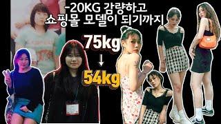 -20kg 감량하고 쇼핑몰 모델된 이야기/다이어트 방법…