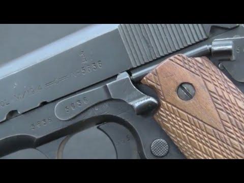 Norwegian M1914 Kongsberg Colt