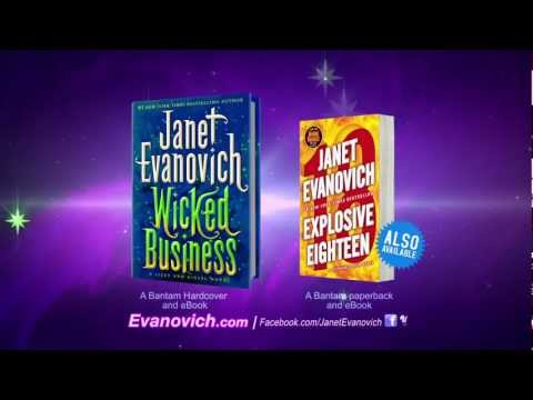 WICKED BUSINESS by Janet Evanovich (book trailer)
