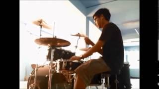 ( Drum cover ) เจ็บไปรักไป - Yes'sir day