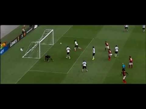Ben Amos amazing save after Leandro Castan fantastic bicycle kick ●Manchester United-Roma 26.07.2014