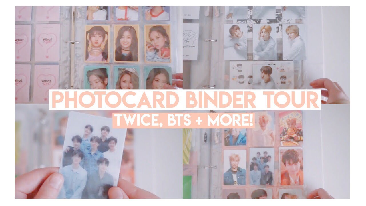 2018 KPOP PHOTOCARD BINDER TOUR | BTS, TWICE + MORE