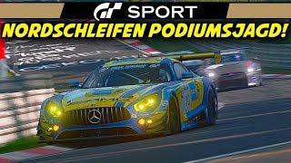 PODIUMSJAGD! | Gran Turismo Sport | Mercedes AMG GT3 @ Nordschleife 24h | Let's Play GT Sport