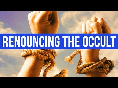 PRAYER TO RENOUNCE THE OCCULT & CULTS & SECTS (For Deliverance)