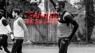 TRAINING GOALS AND WONDER SAVES | Zaha, Benteke, McArthur, Speroni, Hennessey and Perri