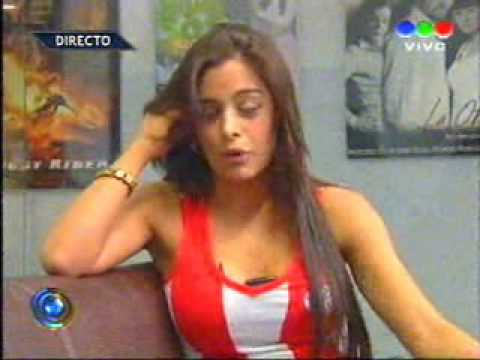 Sólo Fútbol Tv: Larissa Riquelme, desnuda en la Copa América