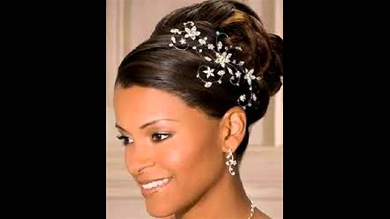50 Wedding Hairstyles For Nigerian Brides And Black: African American Wedding Hairstyles For Curly Hair Photo