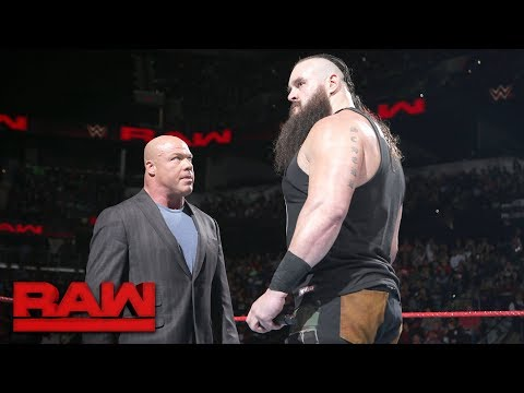 Braun Strowman is fired: Raw, Jan. 15, 2018