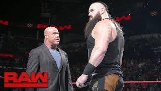 Braun Strowman is fired Raw Jan 15 2018