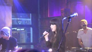 Carly Rae Jepsen performing her number 1 hit song Call Me Maybe on ...
