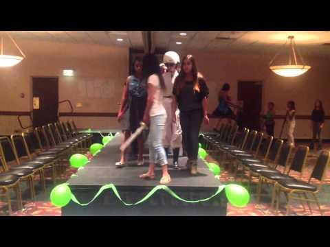 Hunger Games theme Fashion show