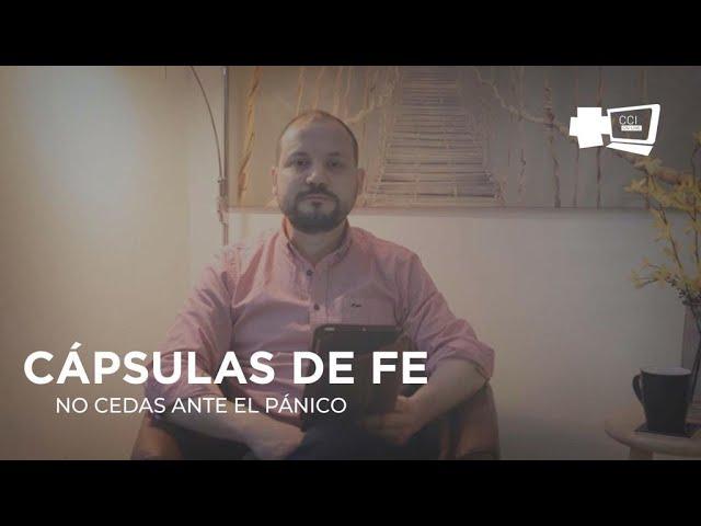 NO CEDAS ANTE EL PÁNICO (David Henao)