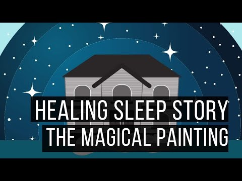 The Magical Painting: Hypnotic Bedtime Story for Grown Ups