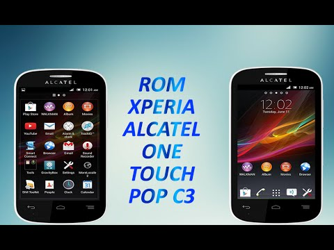 Instalar ROM XPERIA alcatel one touch pop c3 4033