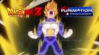 Dragon Ball Z : Battle of Gods ENGLISH DUB TRAILER 2014