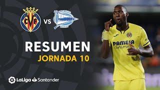 Resumen de Villarreal CF vs Deportivo Alavés (4-1)