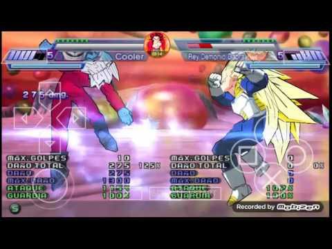 MOD de Dragon Ball Z Shin Budokai 2 V5 PPSSPP, PSP