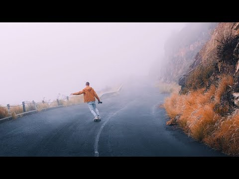 Skating An ABANDONED ROAD On TABLE MOUNTAIN // #theweekendventure