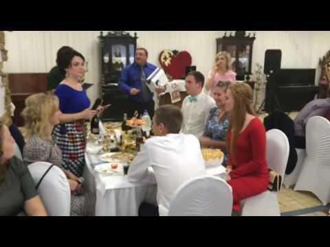 Оригинальное поздравление на свадьбе. Поздравление от друзей. Мега крутое поздравление - Лучшие приколы. Самое прикольное смешное видео!