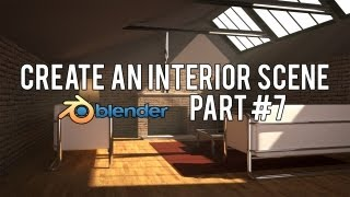 [HD] كيفية إنشاء الحديثة الساحة الداخلية في الخلاط 2.6 (الجزء رقم 7)