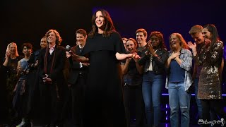 Alanis Morissette Leads Jagged Little Pill Opening Night Curtain Call