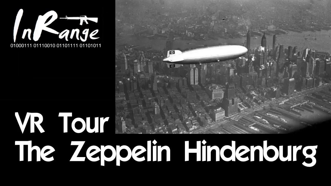 VR Tour - The Zeppelin Hindenburg