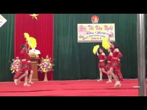 Nhảy Mambo - Học sinh trường THCS Nguyễn Du, Thái Nguyên