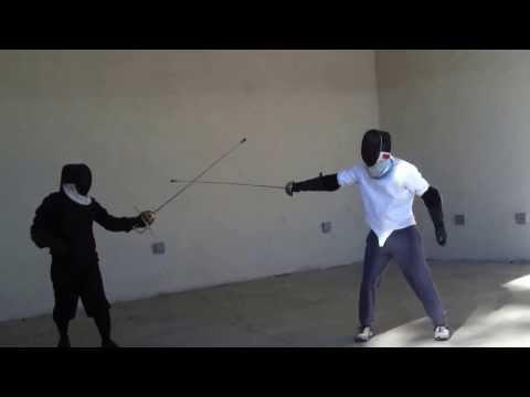 Swordfighting at Julia Davis Park