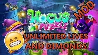 Hocus Puzzle /Mod Apk Unlimited Dimonds And Lives /Have Fun