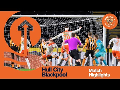 Hull Blackpool Goals And Highlights