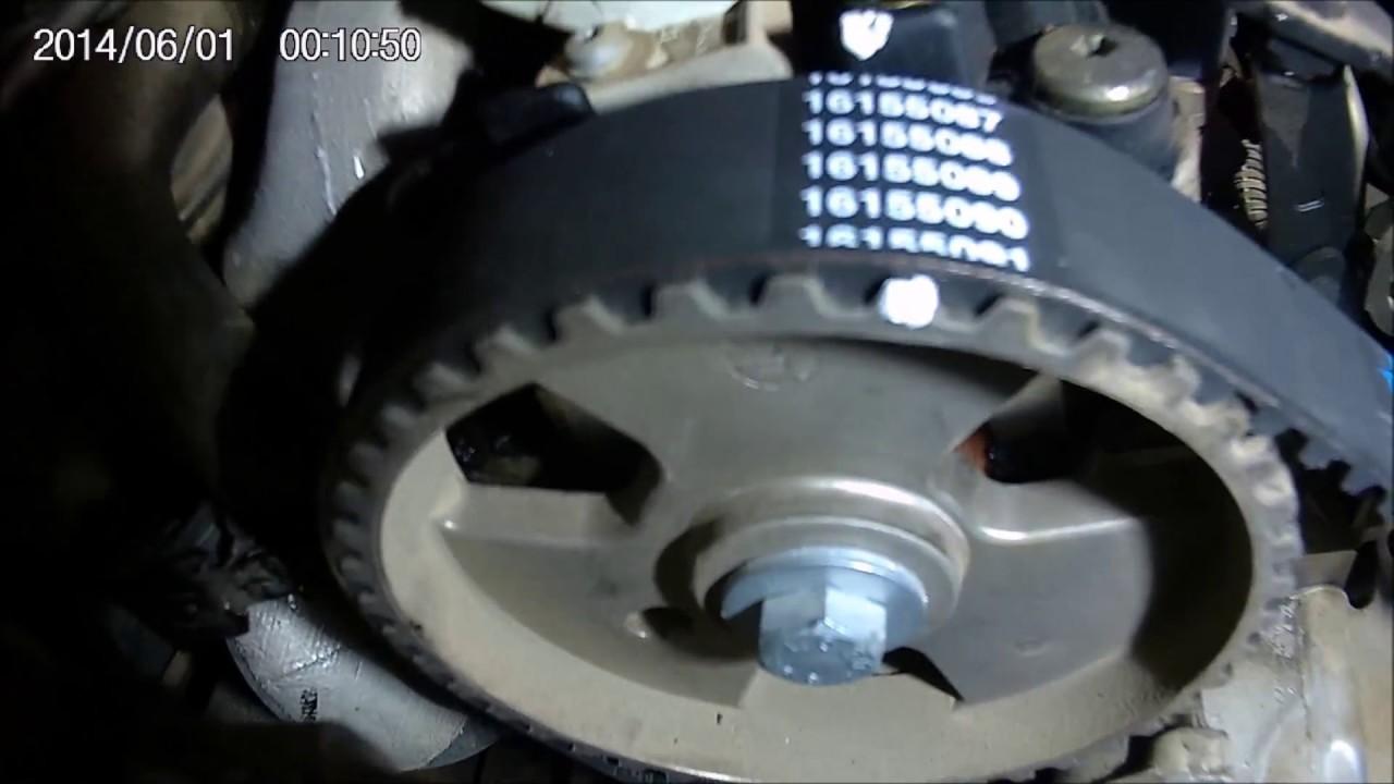 Correa Distribucion Y Puntos De Calado Motor Psa 2 0hdi