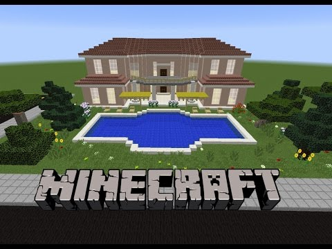 Minecraft: Havuzlu Villa Yapımı #3