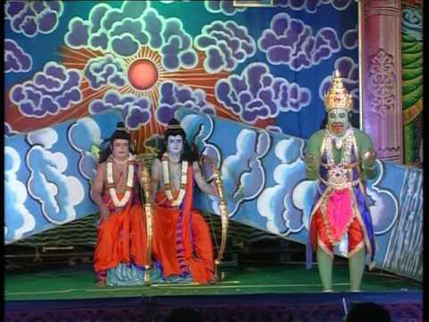 Sampoorna ramayana nataka  Vijaya Kumar  Ramanagara Act as Anjaneya