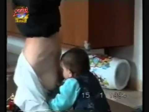 BABY SHOW EP 1 baby breast feeding from mom standing on her head   YouTube