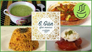 Ramazan 6. Gün İftar Menüsü: İzmir Köfte - Etli Bulgur Pilavı - Brokoli Çorbası - Ayva Tatlısı