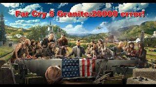COMO GUARDAR PARTIDAS EN Far Cry 5 Granite:20000 error!