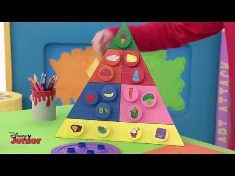 Art Attack - Food Planner - Official Disney Junior UK HD