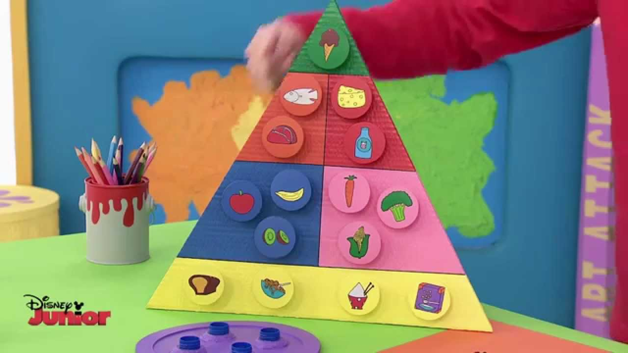 Art attack food planner official disney junior uk hd - Videos de art attack manualidades ...