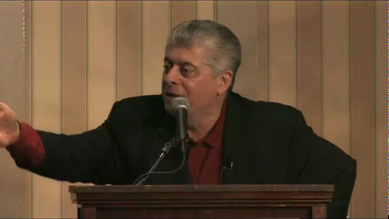 from Cyrus is judge andrew p napolitano gay
