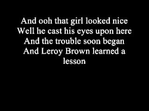 Bad Bad Leroy Brown (Lyrics) - Jim Croce