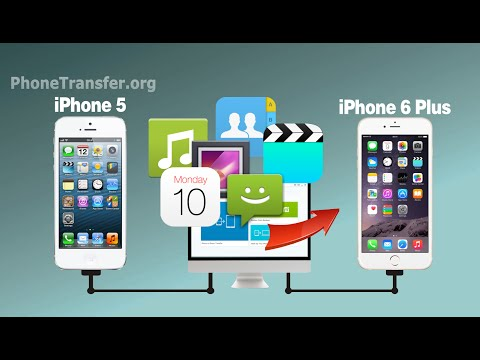 How to Transfer All Data from Old iPhone to New iPhone SE / iPhone 6+ / iPhone 5S