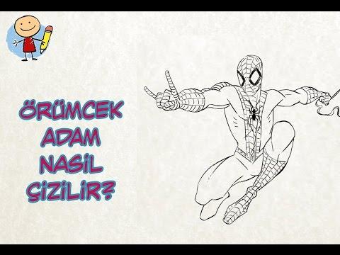 çocuklar Için örümcek Adam Spiderman çizimi çocuk Için Resim