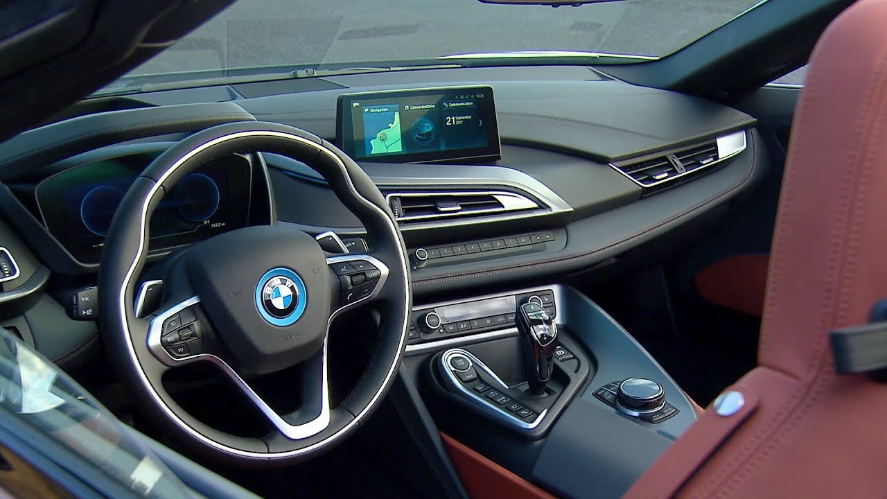 2018 Bmw I8 Roadster Interior Youtube