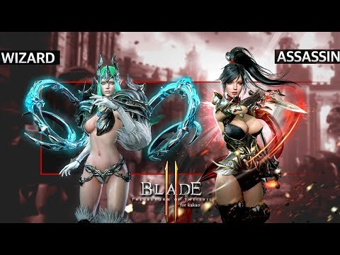 Blade 2 : The Return Of The Evil - First CBT Assassin vs Wizard Dungeons vs Arena Boss Gameplay