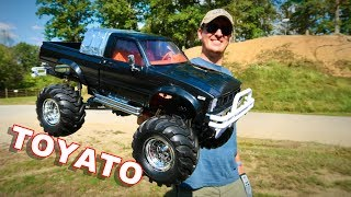 TOYATO Updates & Impressions 4X4 Pickup Truck - HG P407 RC Crawler - TheRcSaylors