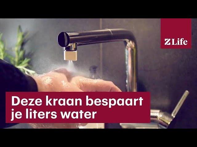 Met dit opzetstuk voor je kraan verbruik je minder water bright