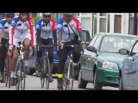 Ride 4 Peace  ITV News (ITV Tyne Tees)