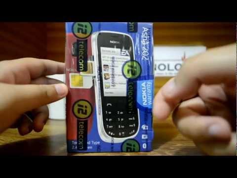 Nokia Asha 202 - Unboxing